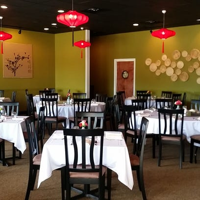 The interior of Tely's Chinese Restaurant in Suntree
