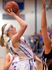 Sarah Ogden is one of five seniors to lead the Royals