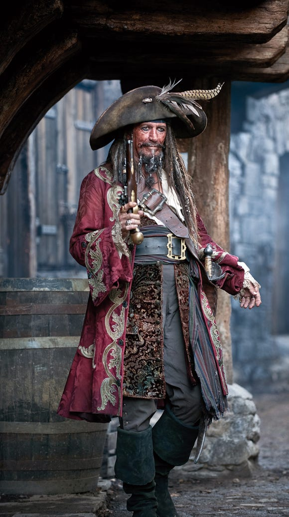 Keith Richards is Captain Teague in 'Pirates of the