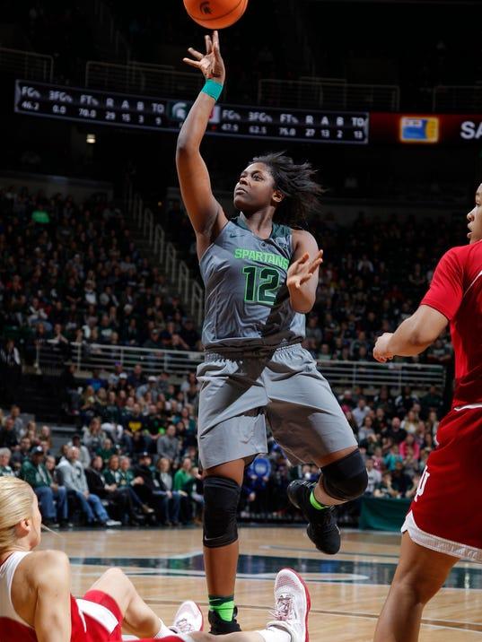 MSU vs Indiana Women's Basketball