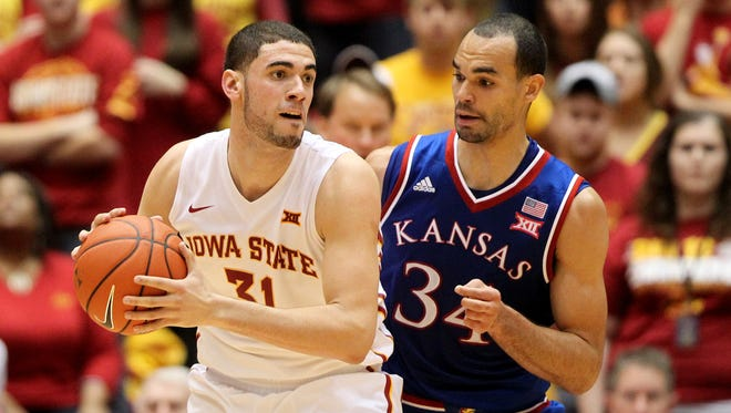 Iowa State's Georges Niang and Kansas' Perry Ellis are sure to have more battles in 2015-16.