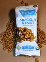 This variety of Big Sandy's Kracklin' Kamut has three