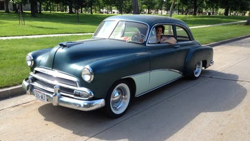 Summer is better when driving a 1951 Chevy