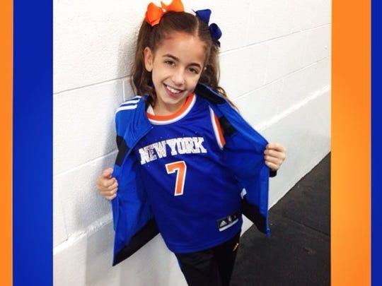 GiaNina Paolantonio was a Knick City Kid.