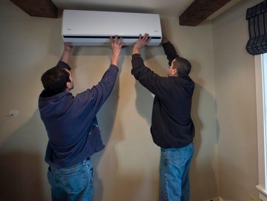 Joe Cobb and Nick Ramos of Energy Co-op of Vermont
