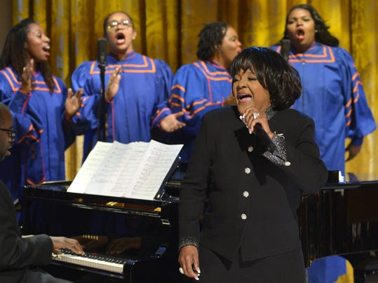 US President Barack Obama attends evening of Gospel music at the White House