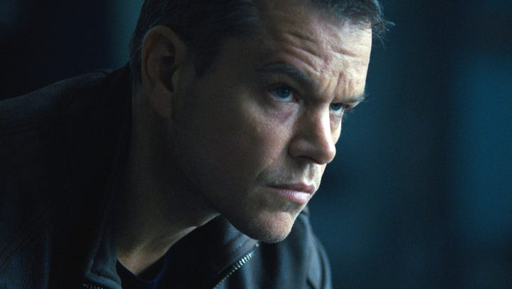 Matt Damon in 'Jason Bourne.'