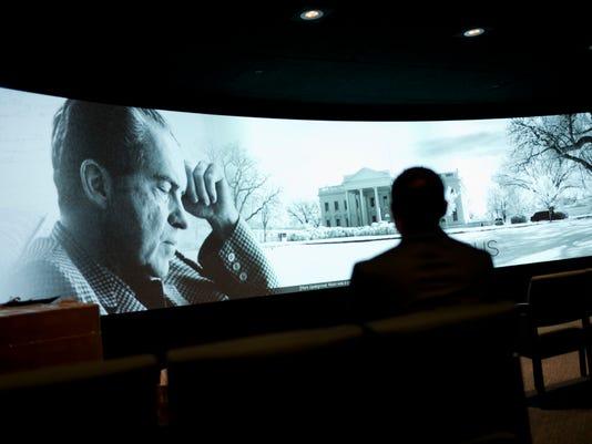AP NIXON MUSEUM A USA CA
