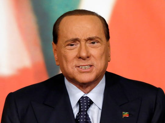 AP Italy Berlusconi
