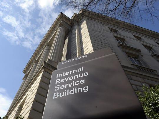 The Internal Revenue Service (IRS) building in Washington. Susan Walsh/AP