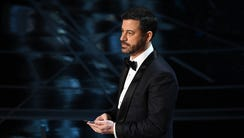 Jimmy Kimmel really tweeted at President Trump live