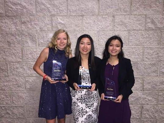 Riverdale High students win national award