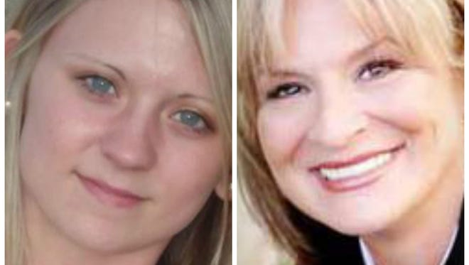 Jessica Chambers, left, told Alabama author Linda Oliver that she wanted help writing a book. They never got to talk about what that book would say.