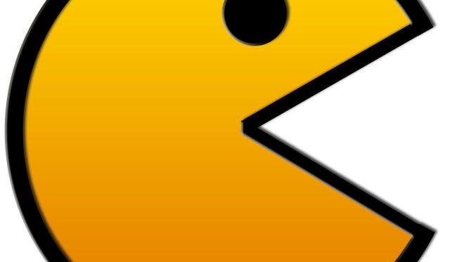 It's Pac-Man!
