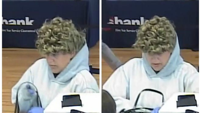 Police are searching for a suspect who robbed the U.S. Bank in Norwood.