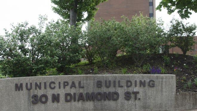 Mansfield municipal building
