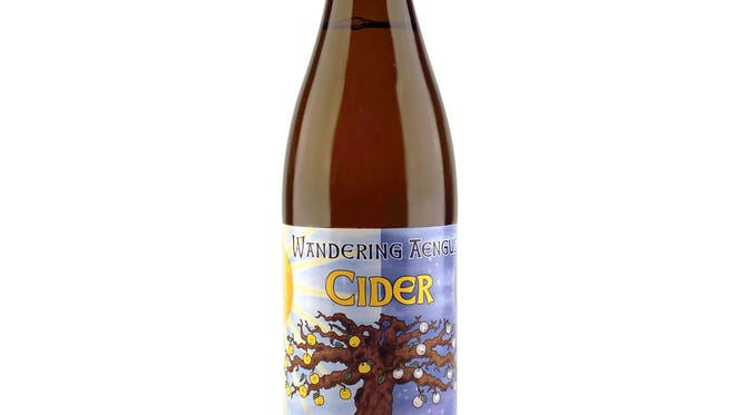 Wandering Aengus cider will be served with  Artichoke and Spinach Tartlet and Fire Roasted Apple/Blue Cheese Bacon Bouchees to kick off the Farm to Table Dinner and Auction that features area food and drink.