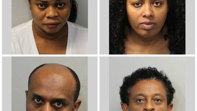 "Clockwise from left: Christabel Ekhosuehi, 29; Eyerusalem ""Jerry"" Hiruif, 31; Firehiwot Gebre, 35; and Wondwossen ""Wondu"" Gizaw-Tessema, 57"