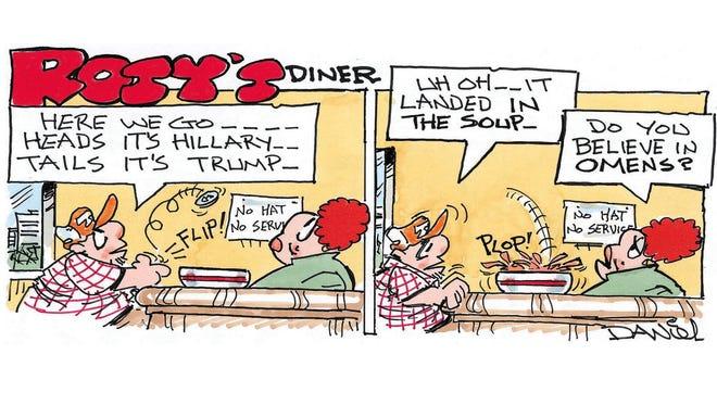 Charlie Daniel cartoon for Oct. 23, 2016