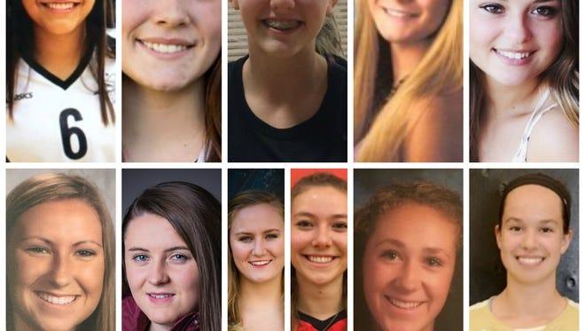 Meet the 2016 LSJ girls volleyball Dream Team.