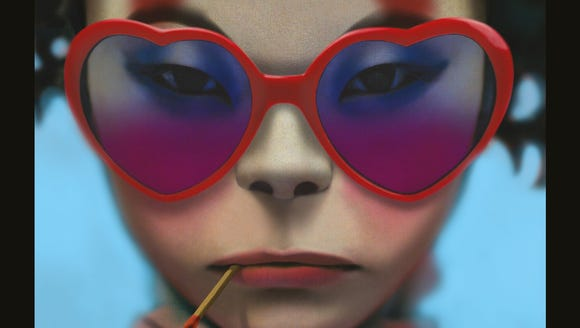 """Humanz"" is the fifth album by Gorillaz."