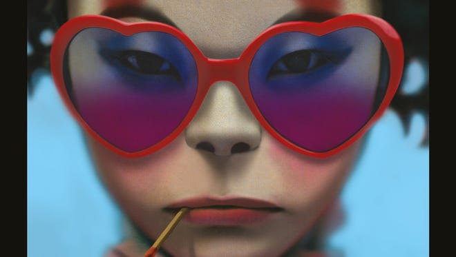 """""""Humanz"""" is the fifth album by Gorillaz."""