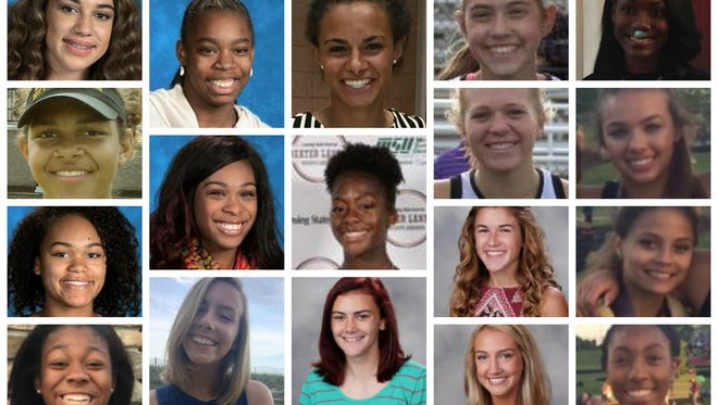 A look at the girls track Dream Team performers from the spring.