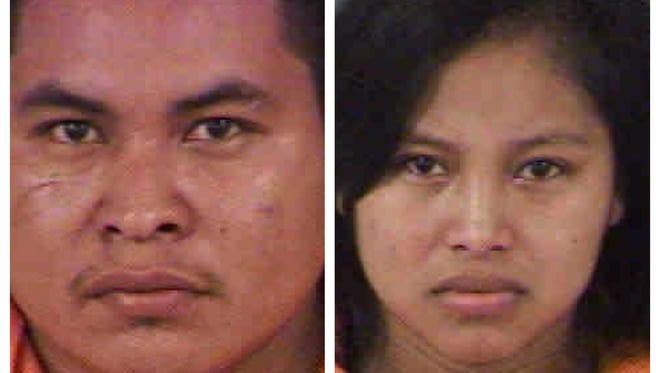 Juan Lopez-Ramos and Etelvina Lopez-Ramirez were arrested in for taking a 9-year-old boy from the Cape Coral Sports Complex Tuesday.