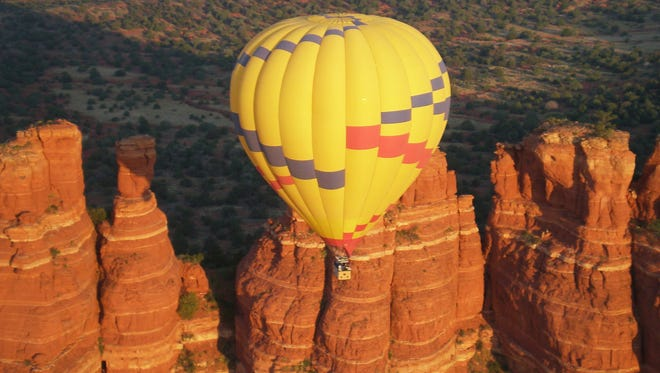 Red Rock Balloon Adventures is one of only two balloon companies permitted by the U.S. Forest Service to take off and land in the Sedona area.