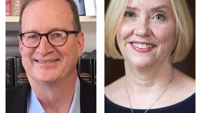 John Wilkinson and Lynette Sparks
