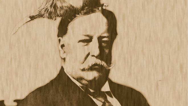 "A promotional image for Cincinnati writer Sean P. Mette's one-person show ""Billy: the Haunting of William Howard Taft."" The show will be part of the 15th Annual Fringe Festival, running May 29-June 10 in various venues in Over-the-Rhine."