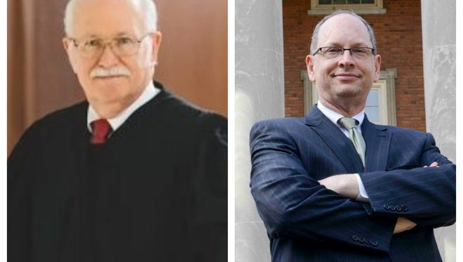 Democratic Chief Justice nominee Bob Vance (right) continues to dominate fundraising in the race to lead the state's judiciary. He raised more than $200,000 in August, while Republican nominee Tom Parker (left) raised just $3,000.