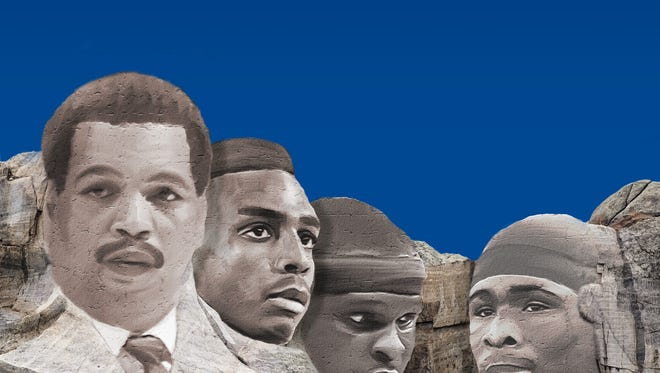 Larry Finch, Penny Hardaway, Zach Randolph and DeAngelo Williams worthy of a Memphis sports Mount Rushmore.