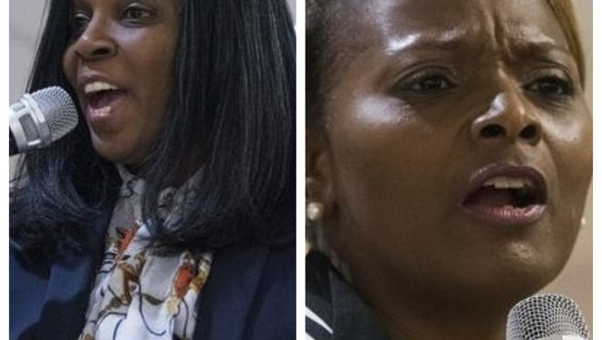 Rhonda Oats and DeVona Sims will face each other in a runoff election for the District 5 Board of Education Democratic nominee.