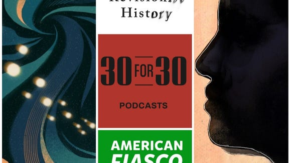 Podcasts about science, sports, love and history should