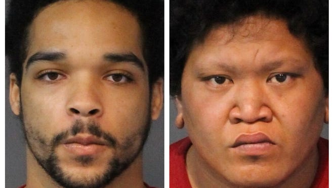 Lathaniel Hutcherson, 23, of Richmond, Calif. (left) and Harry Paupuaga, 22, of Reno, were both sentenced to 20 years and 48 years, respectively, for their involvement in a series of robberies in Reno-Sparks.