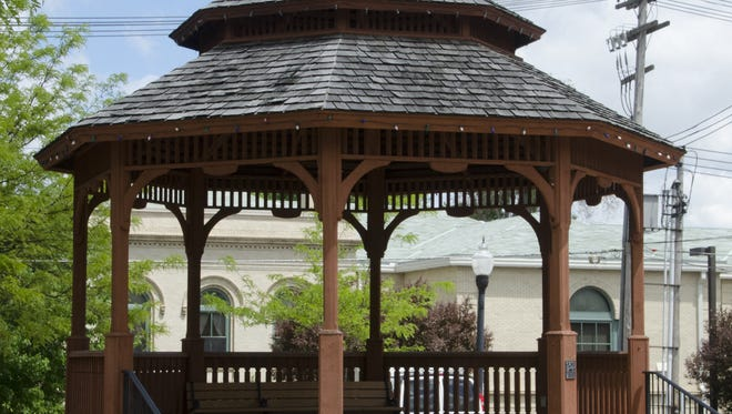 The gazebo in Uptowne Galion will be getting some much-needed repairs this summer, so a stage will be set up for Third Fridays in Galion musical performances.