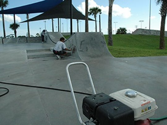 The St. Lucie County Skate Park will be closed Friday,