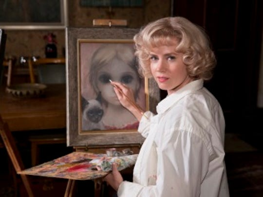 Margaret Keane's paintings revolutionize the mid-century art scene. But she stands unacknowledged as her husband claims her work as his own. Opens Dec. 25