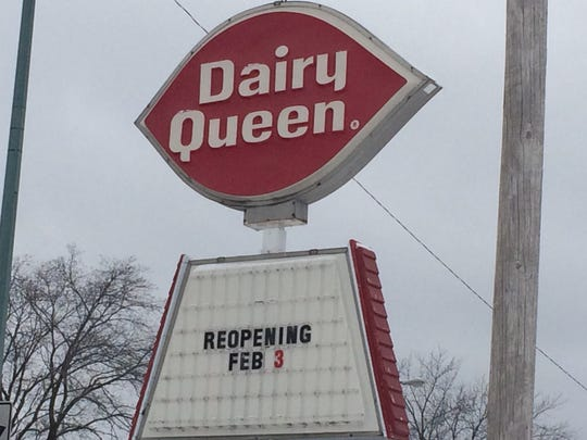 Dairy Queen opens for the 2017 season Feb. 3 in Wisconsin Rapids