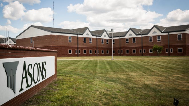 Asons, formerly Wilson Middle School, on Tillotson Ave.  The county is considering converting one of two buildings in Muncie into a jail.
