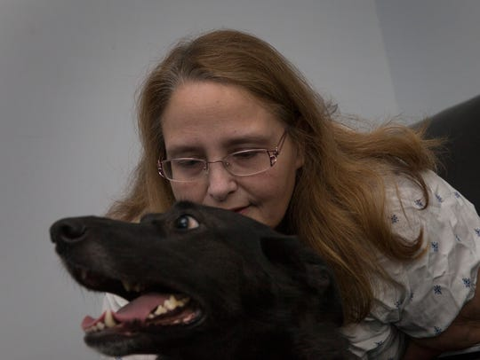 Linda Schroeck-Connors of Lacey, who suffers from epilepsy,