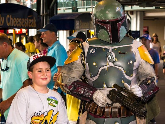 Interact with Star Wars characters during the Montgomery
