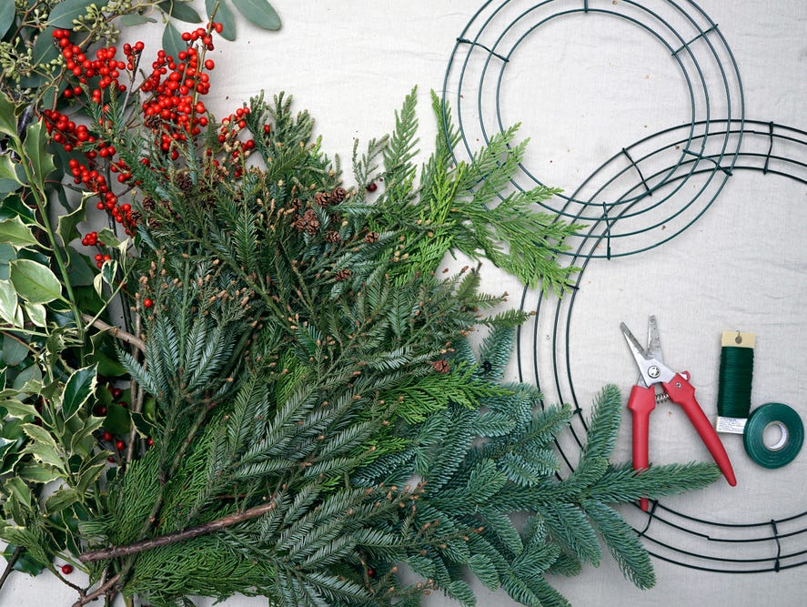 On Dec. 5, create a gorgeous wreath to carry you from the holidays and into winter. RSVP today!