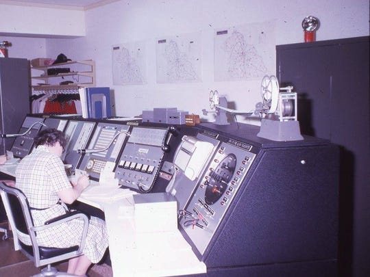 """Joanne Borgel was the first dispatcher hired for York County's brand new communications center in 1970. That was before anyone knew was """"911"""" was."""