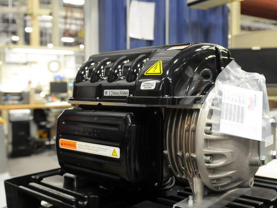Here's an example of the high-efficiency compressors Turbocor builds.