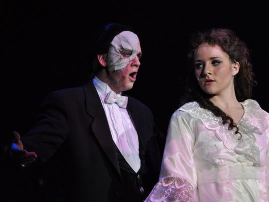 """Producing """"Phantom of the Opera"""" served as one of high points in Russ Saxton's career as the theater director at Dixie High School."""