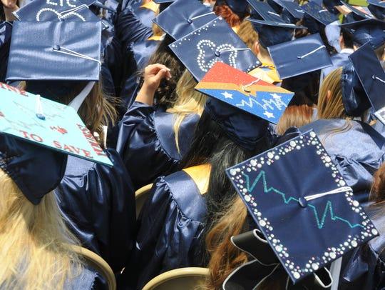 Lakeshore Technical College graduation.