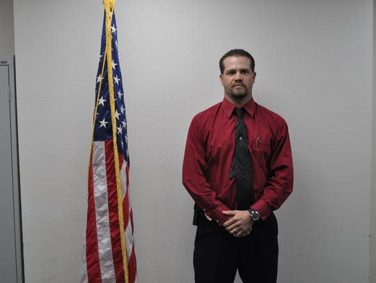 Detective Sergeant Ben Villegas