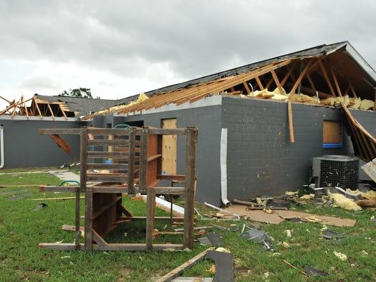 Hurricane Irma Monday scenes